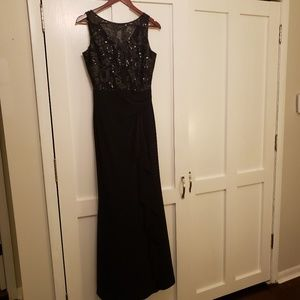 Lauren Ralph Lauren Black Evening Gown